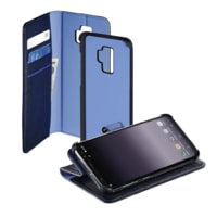 Hama 2in1 Booklet for Samsung Galaxy S9+, dark blue / blue