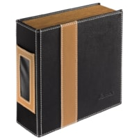 Hama CD/CD-R Album 28, black/brown