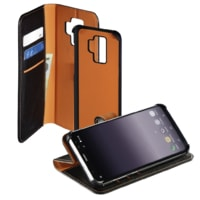 Hama 2in1 Booklet for Samsung Galaxy S9+, black / orange