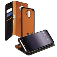 Hama 2in1 Booklet for Samsung Galaxy S9, black / orange