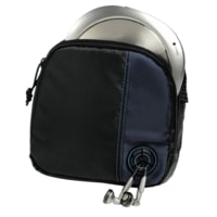 Hama CD Player Bag for Player and 3 CDs, black/blue