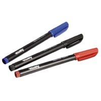 Hama CD-/DVD-ROM Pens, set of 3, black/red/blue