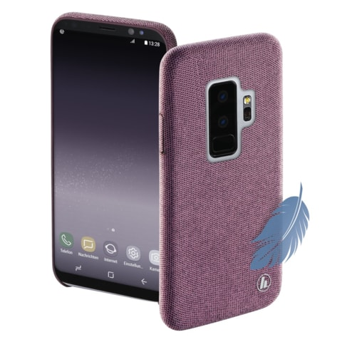 HAMA COZY COVER FOR SAMSUNG GALAXY S9+, PINK