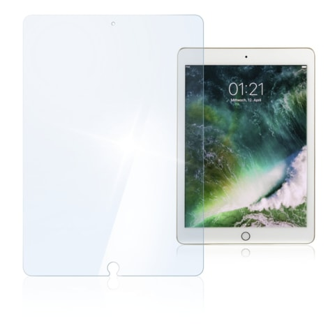 "HAMA PREMIUM GLASS SCREEN PROTECTOR FOR IPAD AIR/AIR 2/PRO 9.7""/9.7"" (2017)"